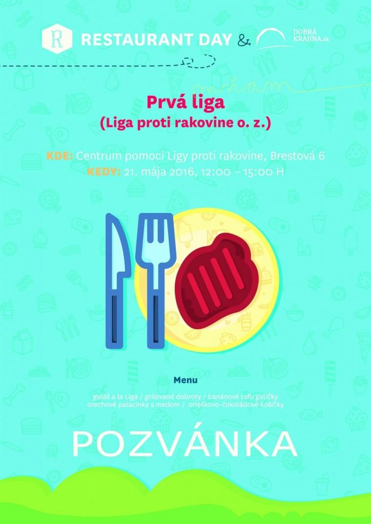 Pozvánka Restaurant Day v LPR